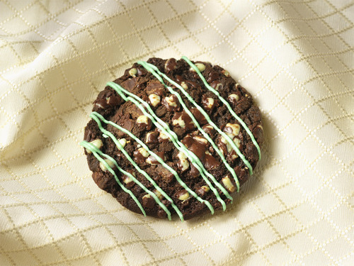 Grasshopper cookies at Over the Top Gourmet Cookies in South Jordan. Courtesy image