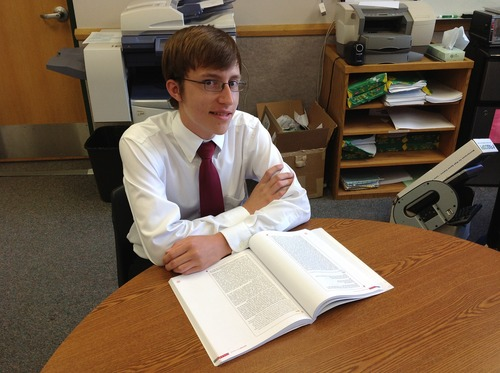 Courtesy Canyons School District Micah Johnston, a senior at Hillcrest High School, earned a perfect score on the ACT.