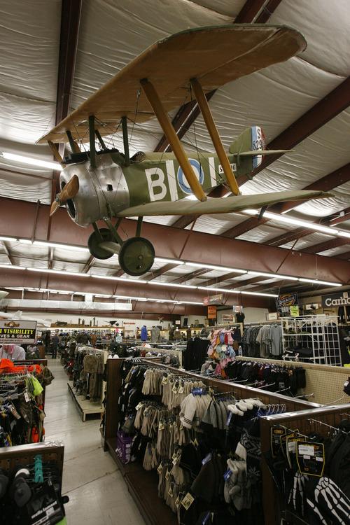Wharton: Exploring the Salt Lake Valley's war surplus store - The