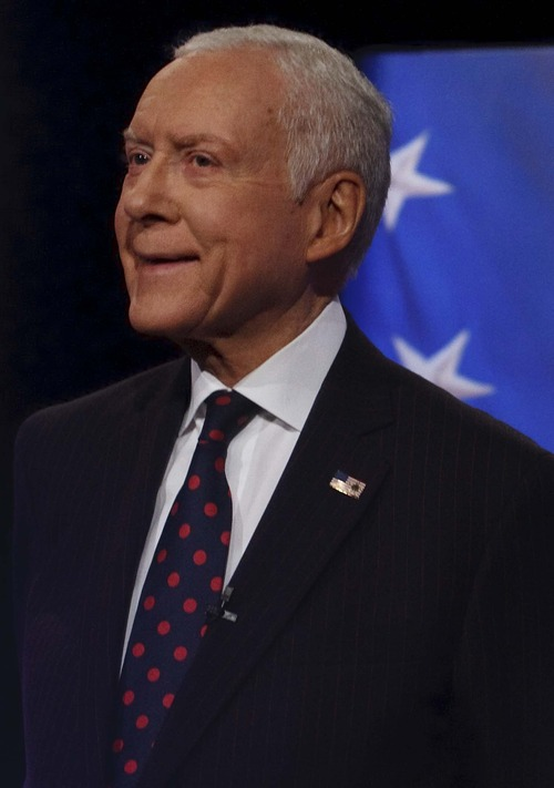 Leah Hogsten     Tribune file photo Sen. Orrin Hatch, R-Utah, insists President Barack Obama and Democrats used Mitt Romney's Mormon faith against him in the recent election campaign. There is little tangible evidence to support the claim.