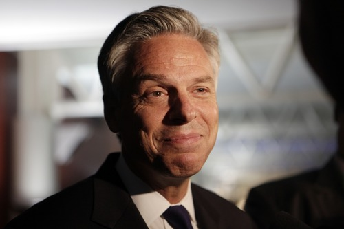 Ashley Detrick  |  Tribune file photo Former Gov. Jon Huntsman once again was singled out by President Barack Obama's campaign aides as the biggest potential threat to Obama's re-election had he been able to secure the GOP nomination.