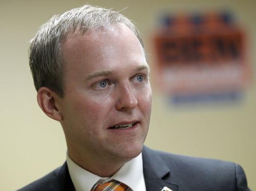 Al Hartmann  |  The Salt Lake Tribune   Democrat Ben McAdams is Salt Lake County's mayor-elect.