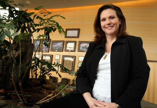 Leah Hogsten     The Salt Lake Tribune Syracuse Mayor Jamie Nagle.
