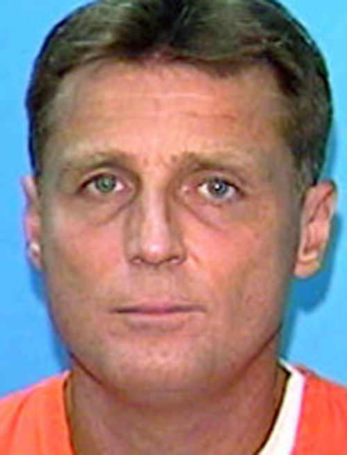 This undated handout file photo provided by the Florida Department of Corrections, shows convicted murderer Glen Rogers. A documentary set to air Wednesday, Nov. 21, 2012, says Rogers, who is on Florida's death row, could know something about the murder of OJ Simpson's wife Nicole and her friend Ron Goldman (AP Photo/Florida Depart of Corrections)