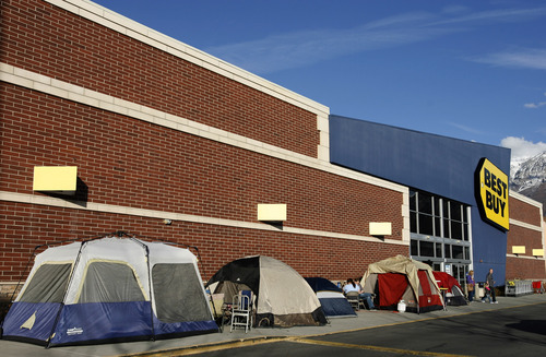 Rick Egan | The Salt Lake Tribune Tents are already lined up in front of the & Sweet early deals push Black Friday up in Utah (with video tips ...