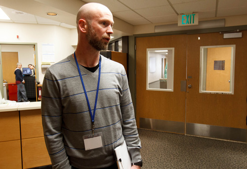 Trent Nelson  |  The Salt Lake Tribune Travis VanRum is the Director of Intake at Highland Ridge hospital. Highland Ridge (inpatient mental health/substance abuse) has undergone an expansion and added some services, including a teen program.