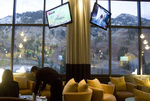 Kim Raff | The Salt Lake Tribune The Aerie at Snowbird Ski Resort is one of several Utah restaurants that will be serving Thanksgiving dinner on Thursday, Nov. 22.