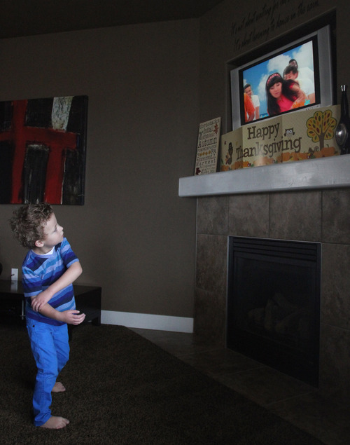 Rick Egan  | The Salt Lake Tribune  Four-year-old Teagan Pettit dances to the TV show, Yo Gabba Gabba. Utah is studying how to screen newborns for seven heart defects, including the one threatening Teagan's health.