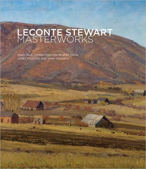 Courtesy photo The cover of a new Gibbs Smith book on the legacy of Utah painter LeConte Stewart, which was published in October.