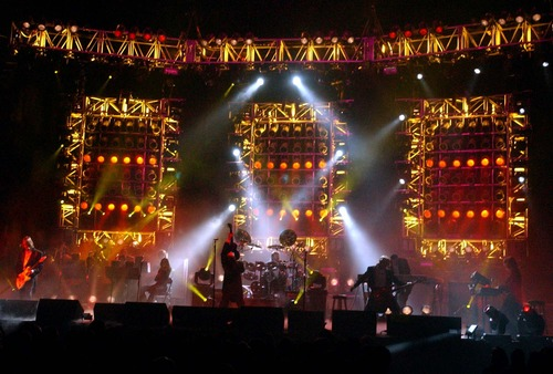 Trans-Siberian Orchestra performs two shows on Nov. 21, 2012, at EnergySolutions Arena in Salt Lake City.