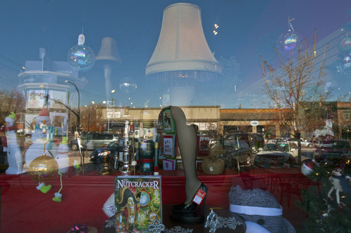 """Chris Detrick     The Salt Lake Tribune Item for sale at Cahoots in Salt Lake City on """"Small Business Saturday."""""""