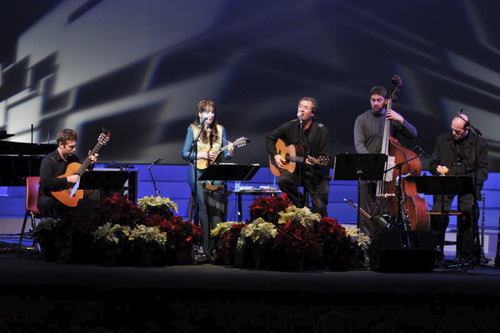 Lark & Spur will perform a holiday concert on Dec. 23. Courtesy photo
