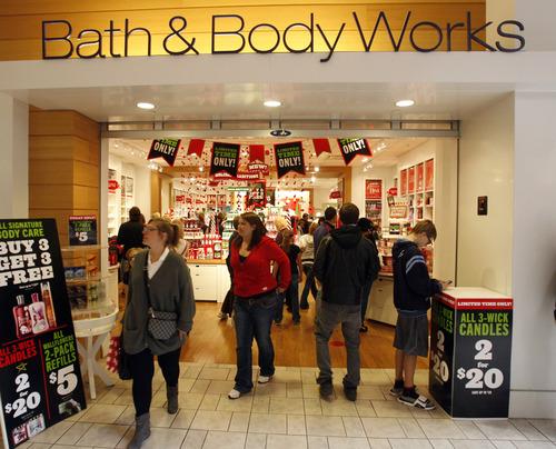 Rick Egan    The Salt Lake Tribune   Shoppers look for black friday bargains at Layton Hills mall, Friday, November 23, 2012.