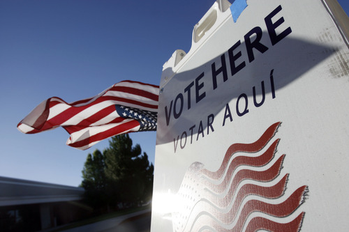 Francisco Kjolseth  |  Tribune file photo Despite Utah's enthusiasm for Mitt Romney's candidacy, voter turnout in the state remained poor. Many eligible voters simply don't bother to participate.