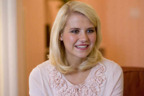 Trent Nelson  |  Tribune file photo Elizabeth Smart is writing a memoir of her experience of being kidnapped at age 14 in 2002. It is scheduled for publication in 2013.