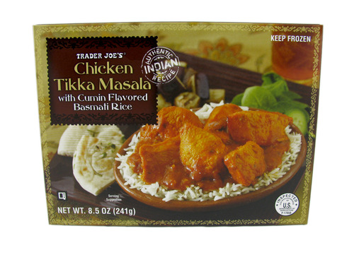 Trader Joe's branded Chicken Tikka Masala. Courtesy image.