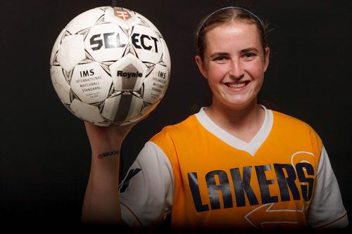 Trent Nelson     The Salt Lake Tribune Bonneville's Megan Fillpot (4A), soccer MVP. Wednesday November 14, 2012 in Salt Lake City.