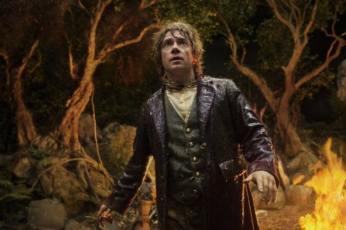 "Martin Freeman plays Bilbo Baggins in ""The Hobbit: An Unexpected Journey."" Courtesy James Fisher  