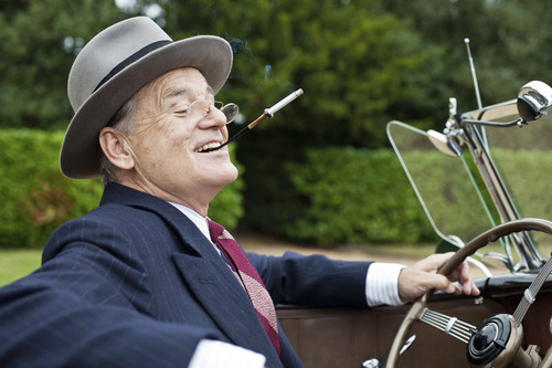 "Bill Murray plays Franklin Roosevelt in ""Hyde Park on Hudson."" Courtesy Nicola Dove  