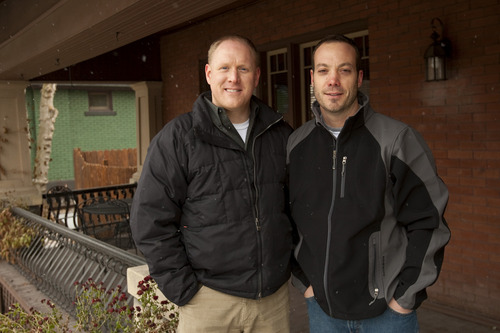 Chris Detrick  |  Tribune file photo  Scott McCoy and his partner Mark Barr in 2009.