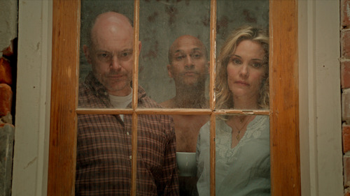 """Rob Corddry, Keegan Michael Key and Leslie Bibb (from left) star in the comedy """"Hell Baby,"""" debuting in the Park City at Midnight section of the 2013 Sundance Film Festival. Courtesy Sundance Institute"""