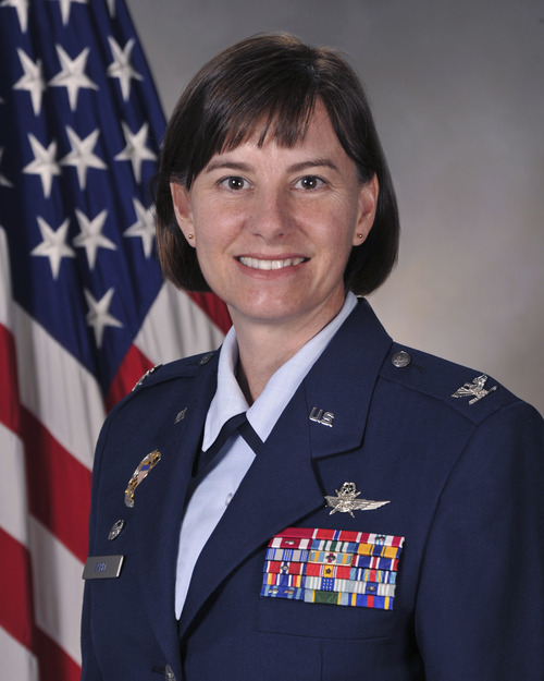 Col. Sarah Zabel, the commander of the 75th Air Base Wing at Hill Air Force Base, is being promoted to brigadier general. Courtesy of the U.S. Air Force. Courtesy image