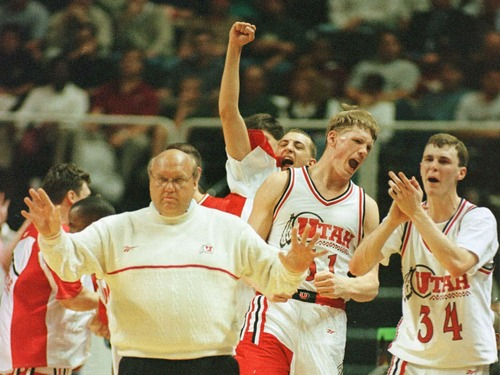 """Former Utah men's basketball coach Rick Majerus died Saurday of heart failure at the age of 64."