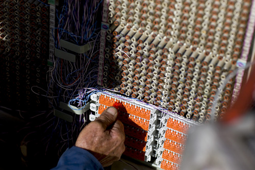 Matthew Staver/Bloomberg *** Local Caption *** Don Cox Phone companies are by far the largest segment of the fiber-to-customer market nationally with about 600 U.S. broadband networks,
