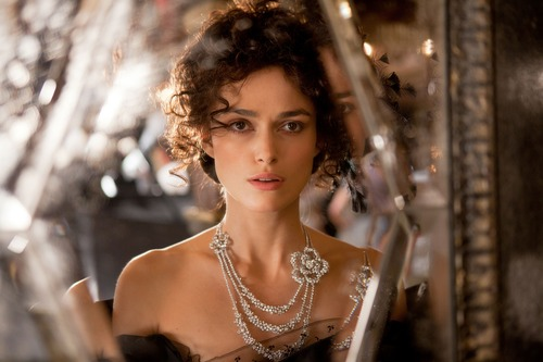 "FILE - This publicity film image released by Focus Features shows Keira Knightley in a scene from ""Anna Karenina."" (AP Photo/Focus Features, Laurie Sparham, File)"
