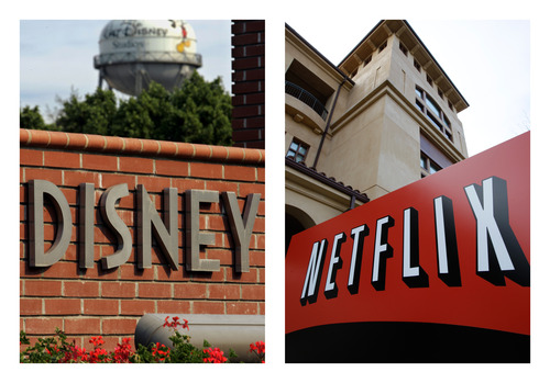 """(AP Photo/File) Disney movies will become available to stream from Netflix seven to nine months after they are first shown in theaters. A Netflix spokesman said that time frame is """"accelerated"""" compared with when Starz gets new releases."""