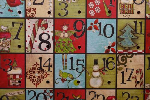 Trent Nelson  |  The Salt Lake Tribune An advent calendar on sale at Modern Display in Salt Lake City.