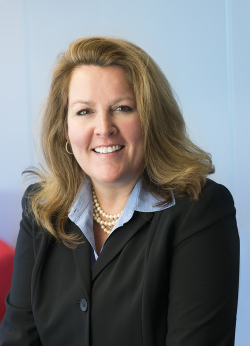 Courtesy photo Carine Clark is the new CEO of Allegiance of South Jordan