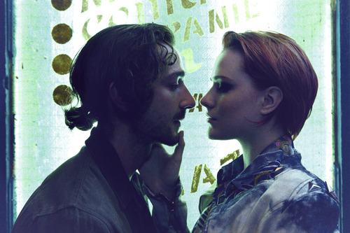 """Shia LaBeouf (left) and Evan Rachel Wood star in """"The Necessary Death of Charlie Countryman."""" The movie is on the Premieres slate of the 2013 Sundance Film Festival. Courtesy Sundance Institute"""