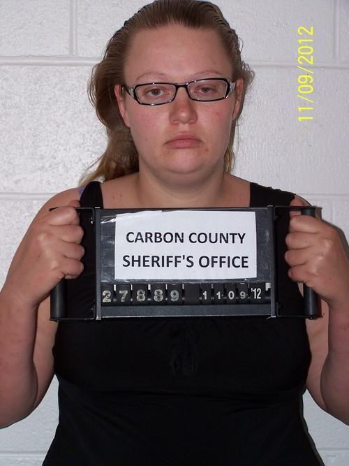 Amanda Nicole Romano. Courtesy Carbon County Jail