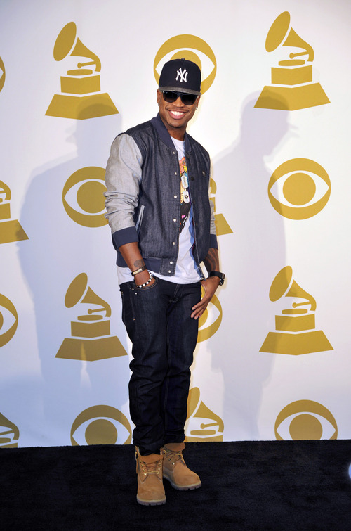 Ne-Yo poses for a photo backstage at the Grammy Nominations Concert Live! at Bridgestone Arena on Wednesday, Dec. 5, 2012, in Nashville, Tenn. (Photo by Donn Jones/Invision/AP)