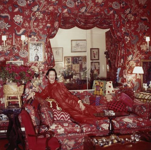 "Diana Vreeland in 1979. The famous fashion editor is the topic of the documentary ""Diana Vreeland: The Eye Has to Travel."" Horst P Horst  |  copyright Estate of Horst P Horst / Samuel Goldwyn Films"