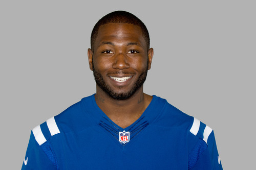FILE - In this 2012 file photo, NFL football player Jerry Brown of the Indianapolis Colts is shown. Dallas Cowboys defensive lineman Josh Brent is facing an intoxication manslaughter charge after a one-vehicle accident that killed Brown, a member of the team's practice squad. Irving police spokesman John Argumaniz said the accident happened about 2:20 a.m. in Saturday, Dec. 7, 2012, in the Dallas suburb. The Cowboys signed Brown to their practice squad on Oct. 24, but he hasn't been on the active roster. (AP Photo/File)