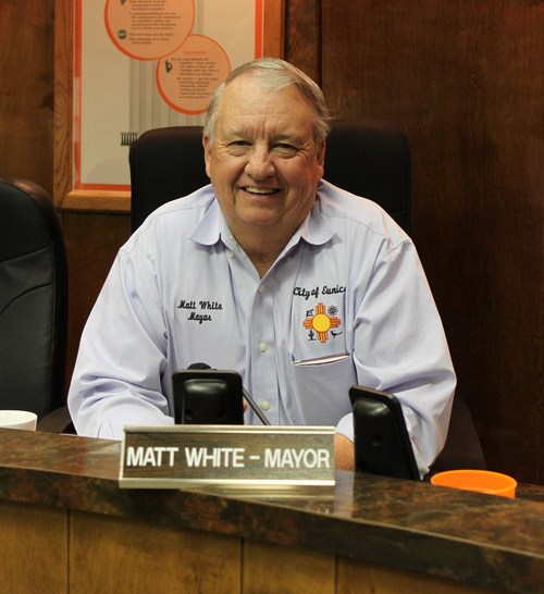 Matt White, mayor of Eunice, N.M., is pushing for a sort of nuclear mega-mall to pump up the economy of the local community. Courtesy photo