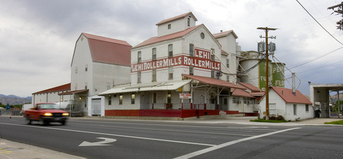 Paul Fraughton | The Salt Lake Tribune The Lehi Roller Mills in Lehi is an icon in art and film.  Thursday, July 19, 2012
