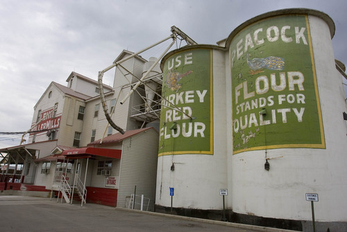 Paul Fraughton   The Salt Lake Tribune The Lehi Roller Mills in Lehi is an icon in art and film.  Thursday, July 19, 2012