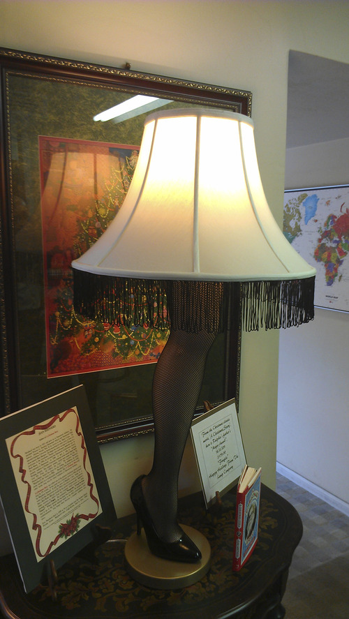 Courtesy photo You can buy your very own leg lamp at The Lamp Company in Salt Lake City.