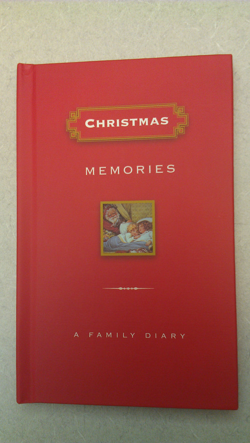 Courtesy photo You can record 20 years worth of Christmas memories in this book.