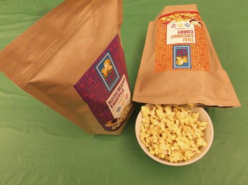 Sean P. Means  |  The Salt Lake Tribune Pop Art gourmet popcorn, made in Salt Lake City.
