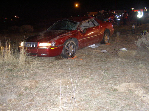 Courtesy UHP James K. Slavens, 54, of Fillmore, died when he rolled his car taking an off-ramp from Interstate 15.