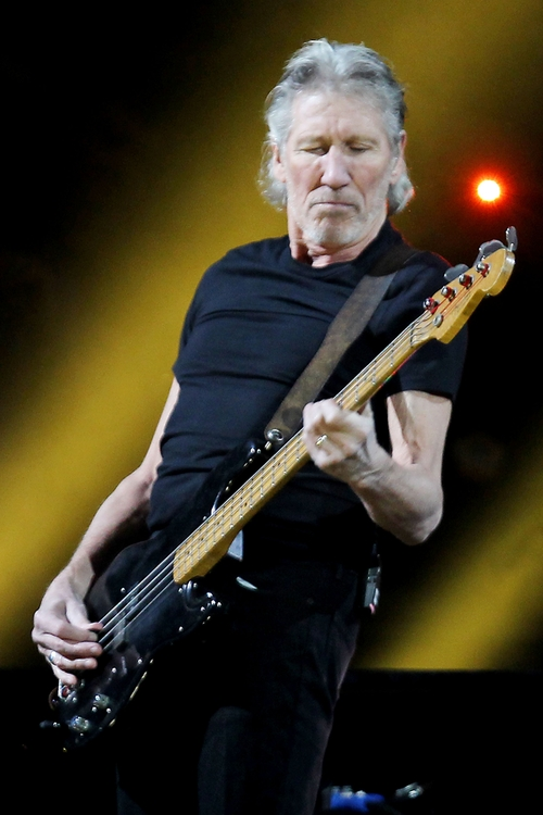 This image released by Starpix shows Roger Waters performing at the 12-12-12 The Concert for Sandy Relief at Madison Square Garden in New York on Wednesday, Dec. 12, 2012. Proceeds from the show will be distributed through the Robin Hood Foundation. (AP Photo/Starpix, Dave Allocca)