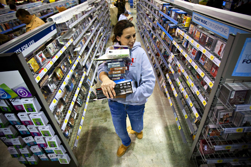 (AP Photo/Daily News, Alex Slitz) In the past year, consumer prices have risen 1.8 percent, down from October's 12-month increase of 2.2 percent.