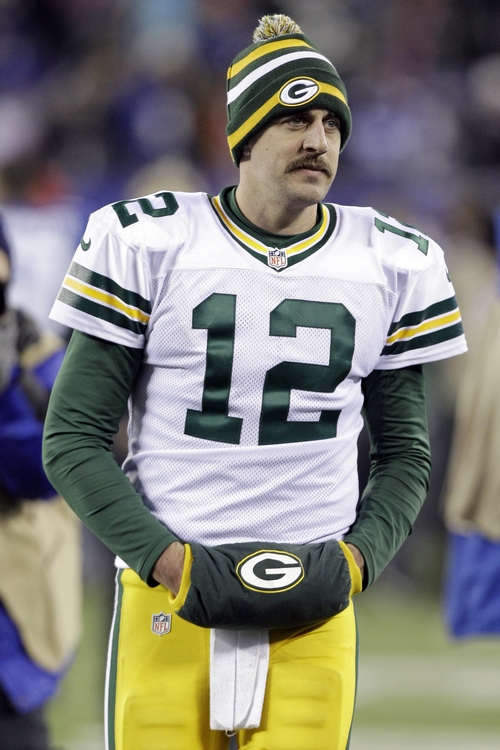 Kathy Willens  |  AP file photo Packers quarterback Aaron Rodgers is unlikely to encounter much resistance from Detroit's defense.