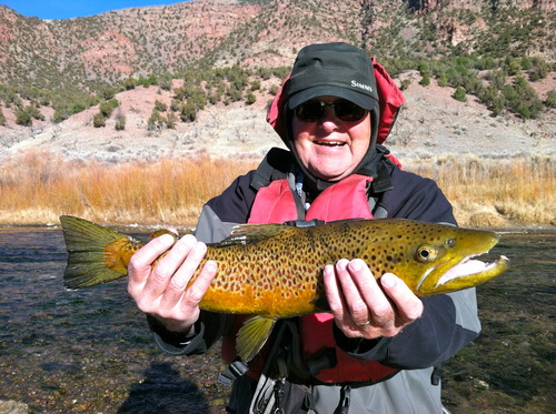 1 of 4 view caption for Green river fly fishing report