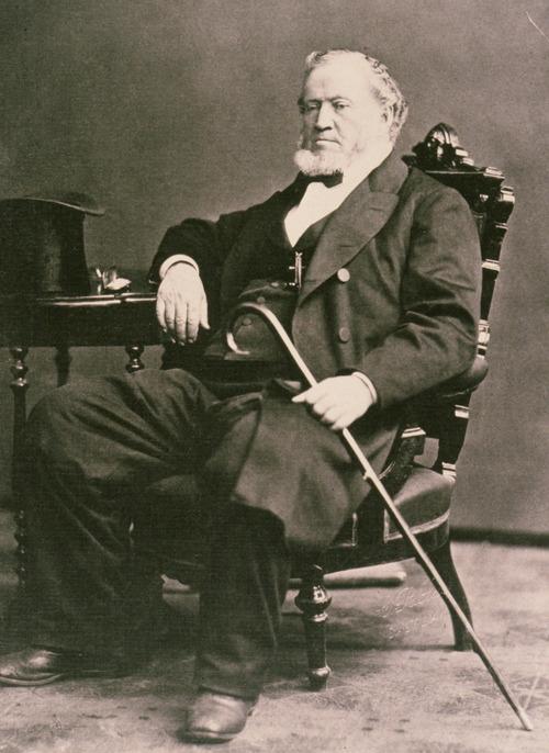 Courtesy photo Mormon prophet Brigham Young.