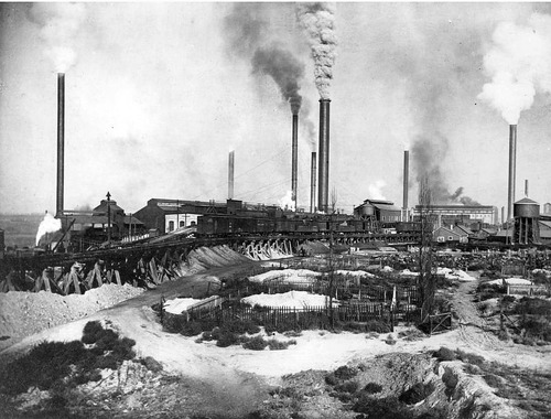 A Look Back Utah Smelting And Refining History In Murray